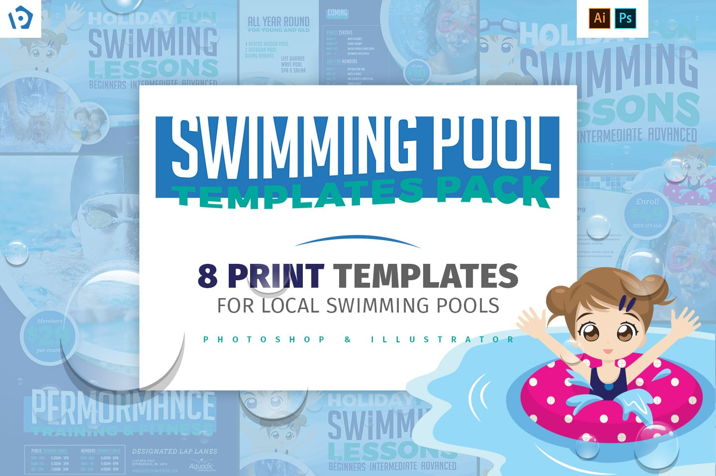 Local Swimming Pool Templates