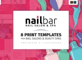Nail Salon Templates Pack