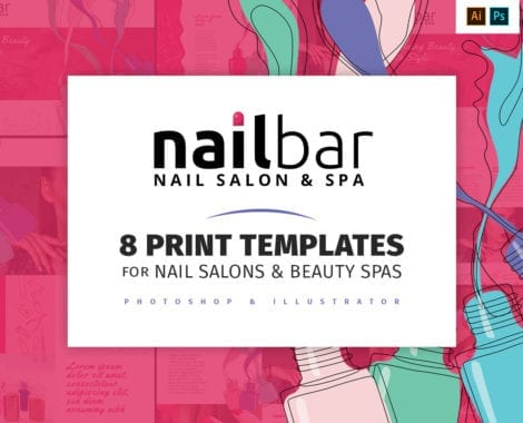 Nail Salon Templates Pack
