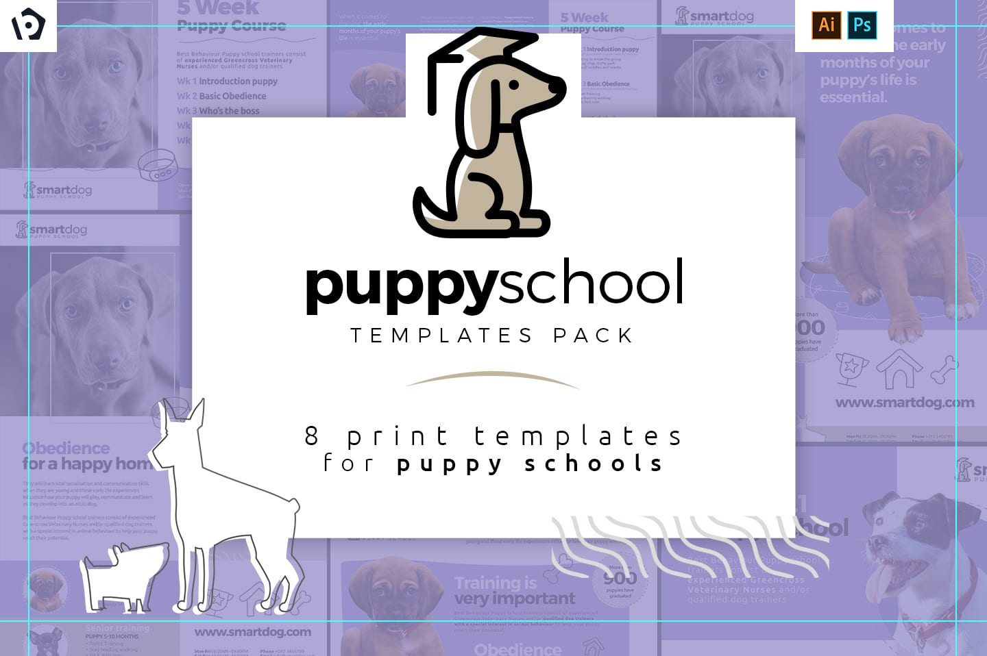 Puppy School Templates Pack
