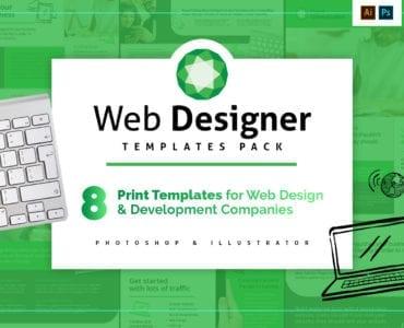 Web Design Templates Pack