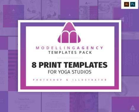 Modelling Agency Templates Pack