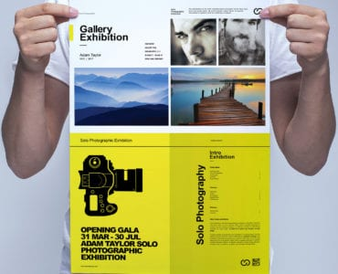 Photography Exhibition Poster Template