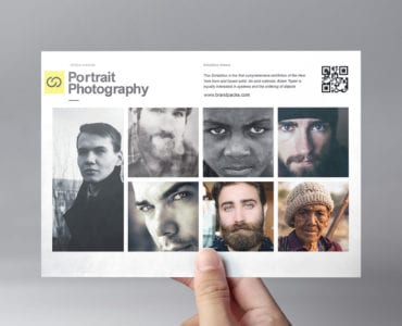 Photography Exhibition Flyer Template