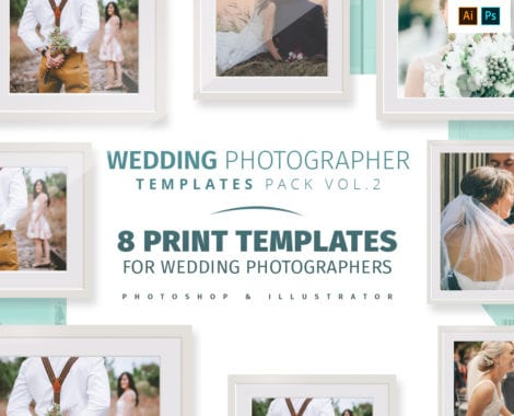 Wedding Photography Templates Pack Volume 2
