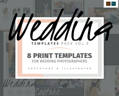Wedding Photography Templates Pack 3