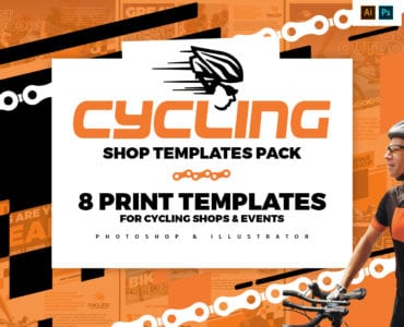 Cycling Shop Templates Pack