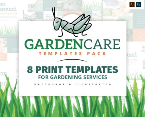 Garden Care Templates Pack