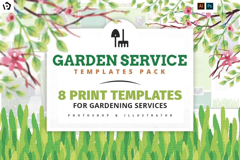 Garden Service Templates Pack
