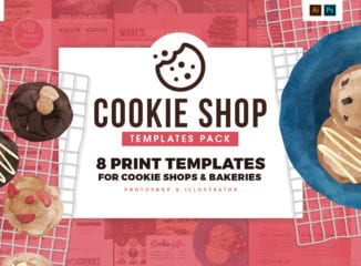 Cookie Shop Templates Pack