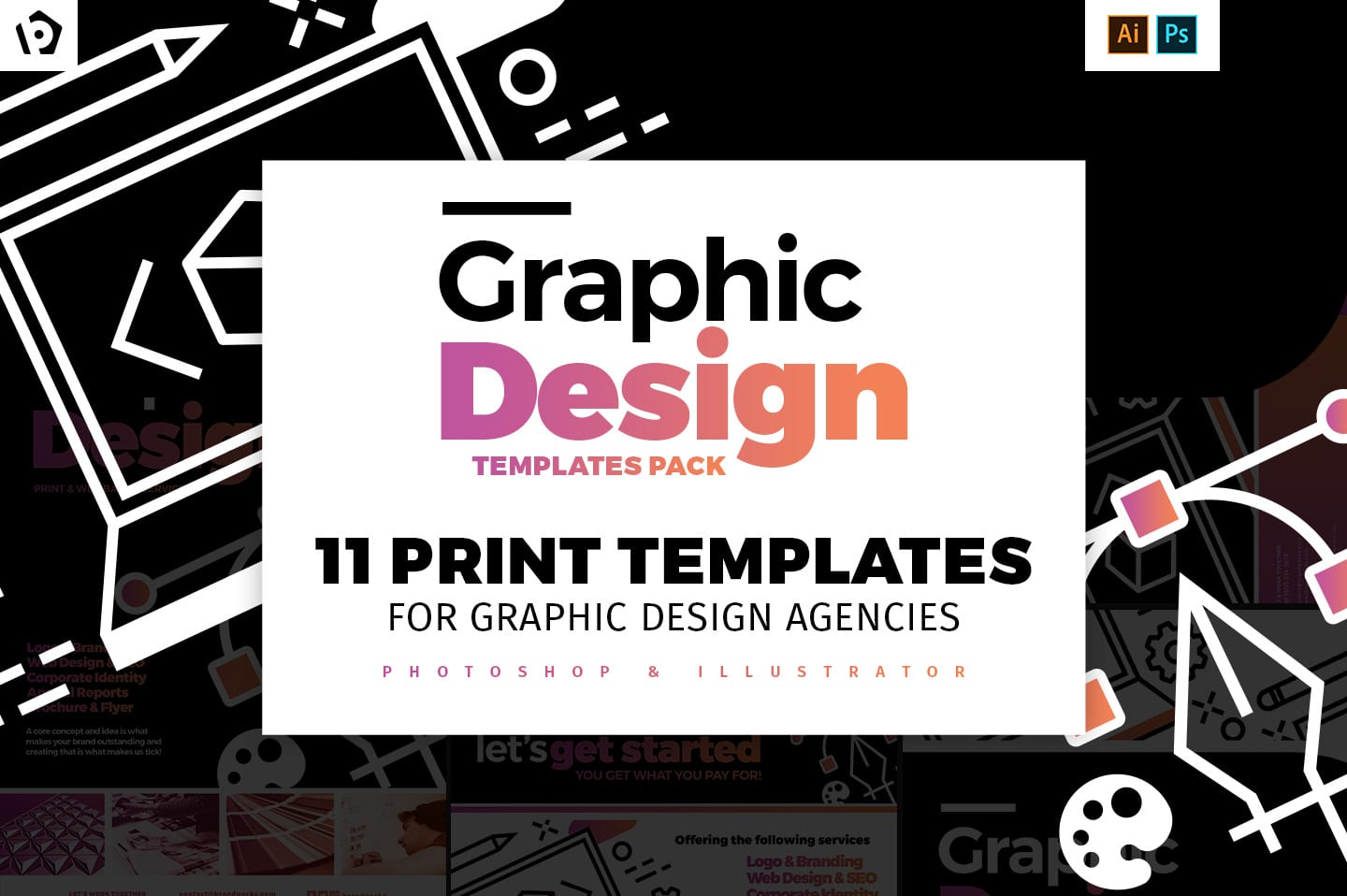 Graphic Design Agency Templates Pack