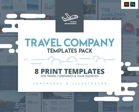Travel Company Templates Pack