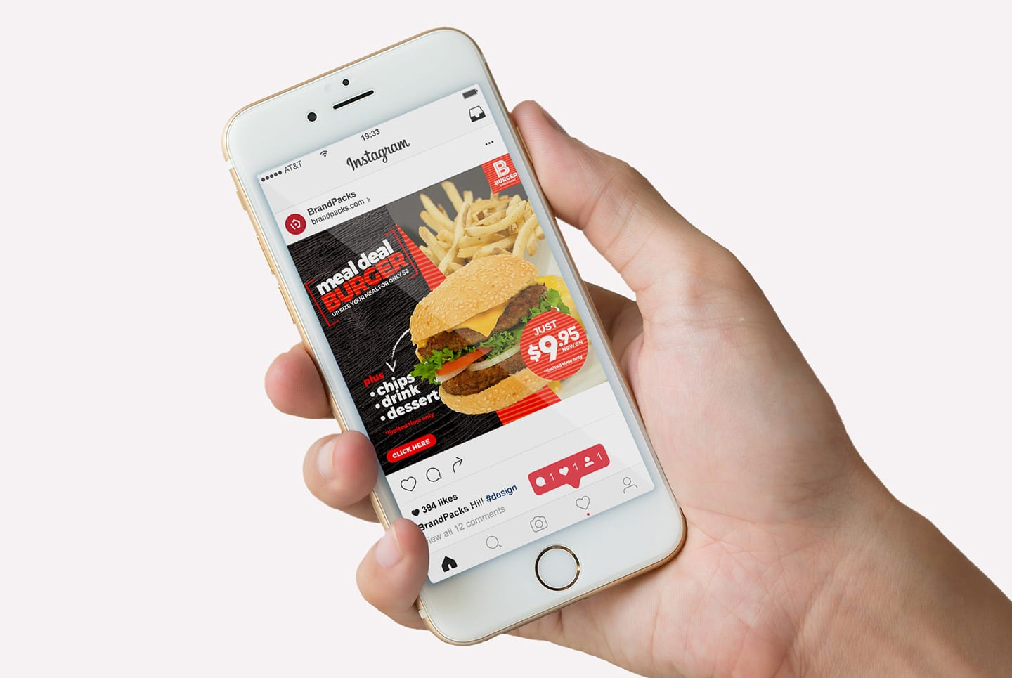 Fast Food Instagram Templates