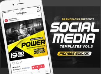 Instagram Templates for Gyms & Fitness