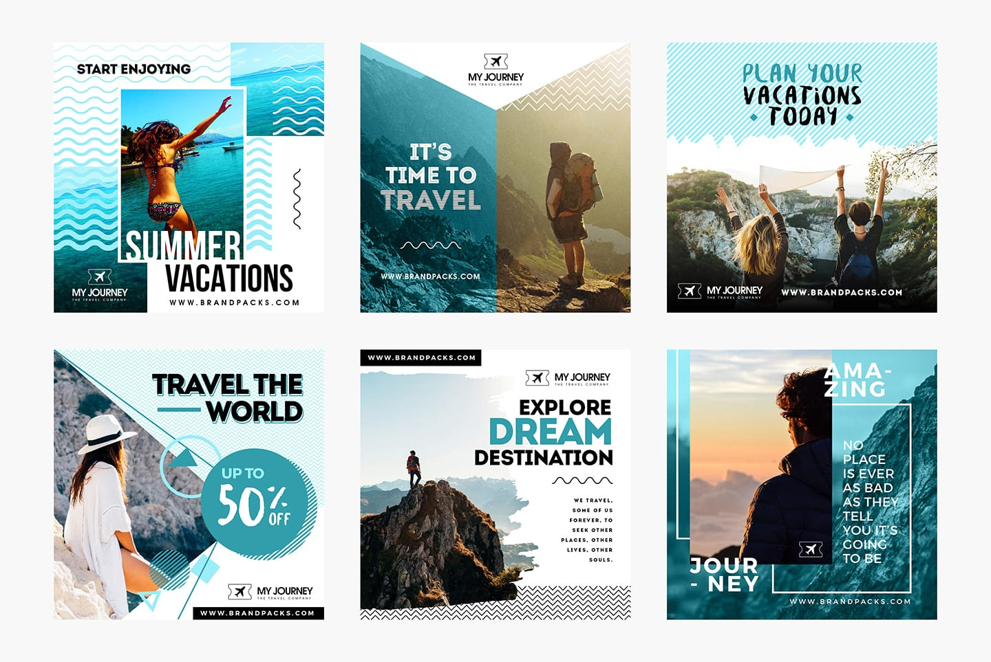 Instagram Advertisement Templates for Photoshop
