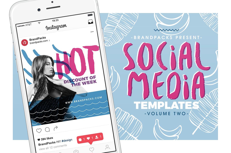 Social Media Templates Pack Vol.2