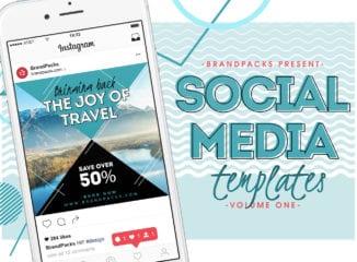Social Media Templates Pack Vol 1