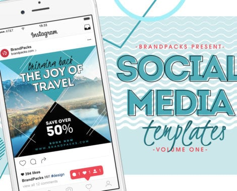 Social Media Templates Pack Vol 1