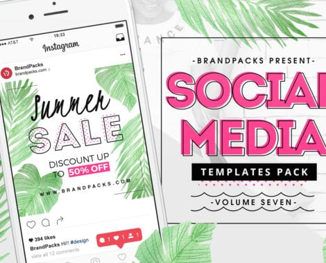 Summer Sale Social Media Templates