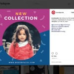 Kid's Fashion Social Media Templates