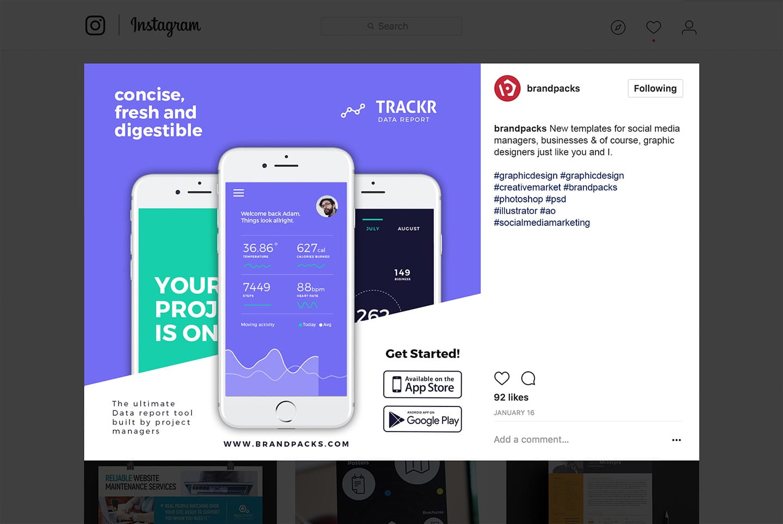 App Promotion Instagram Template