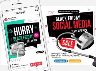 Black Friday Social Media Templates