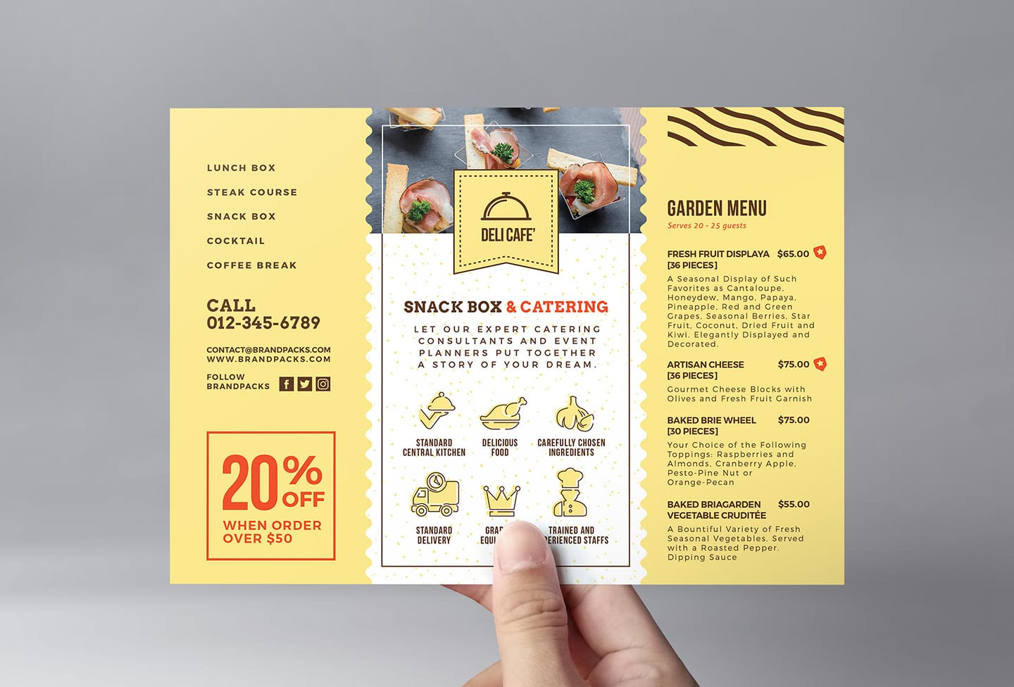 catering service templates pack - psd  ai  u0026 vector