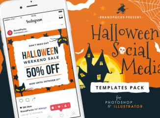 Halloween Templates Pack
