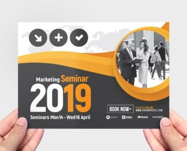 Marketing Seminar Flyer Template