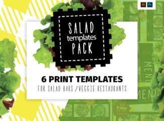 Salad Menu Templates Pack
