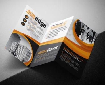 Tri Fold Brochure Template Folding