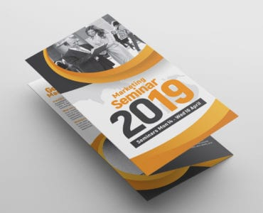 Tri Fold Brochure Template Front