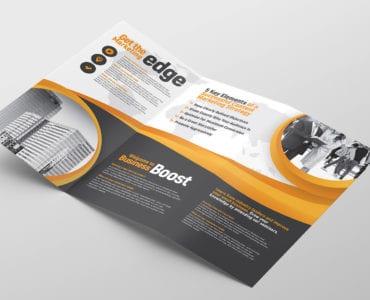 Tri Fold Brochure Template Inside