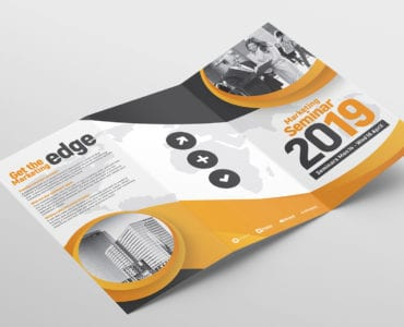 Tri Fold Brochure Template Outside