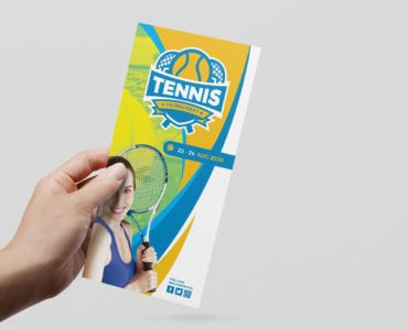 Tennis DL Card Template