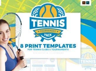 Tennis Tournament Templates Pack