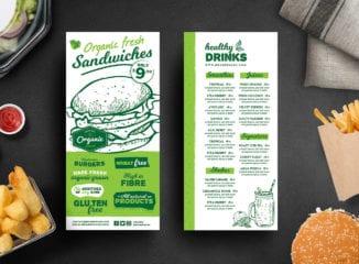 Burger DL Card Template