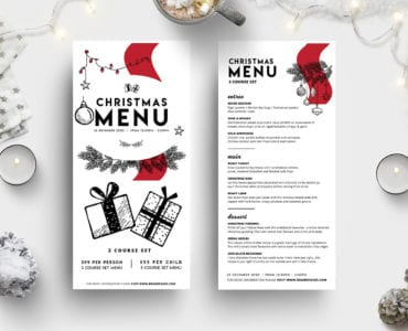 DL Christmas Menu Vol.3