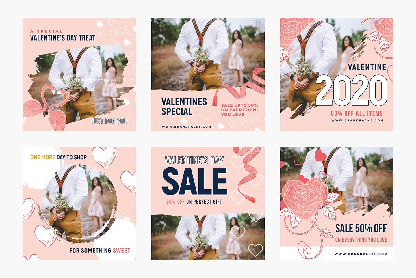 Valentine's Day Instagram Templates