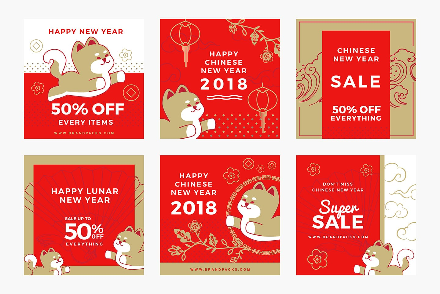 Chinese New Year Instagram Templates
