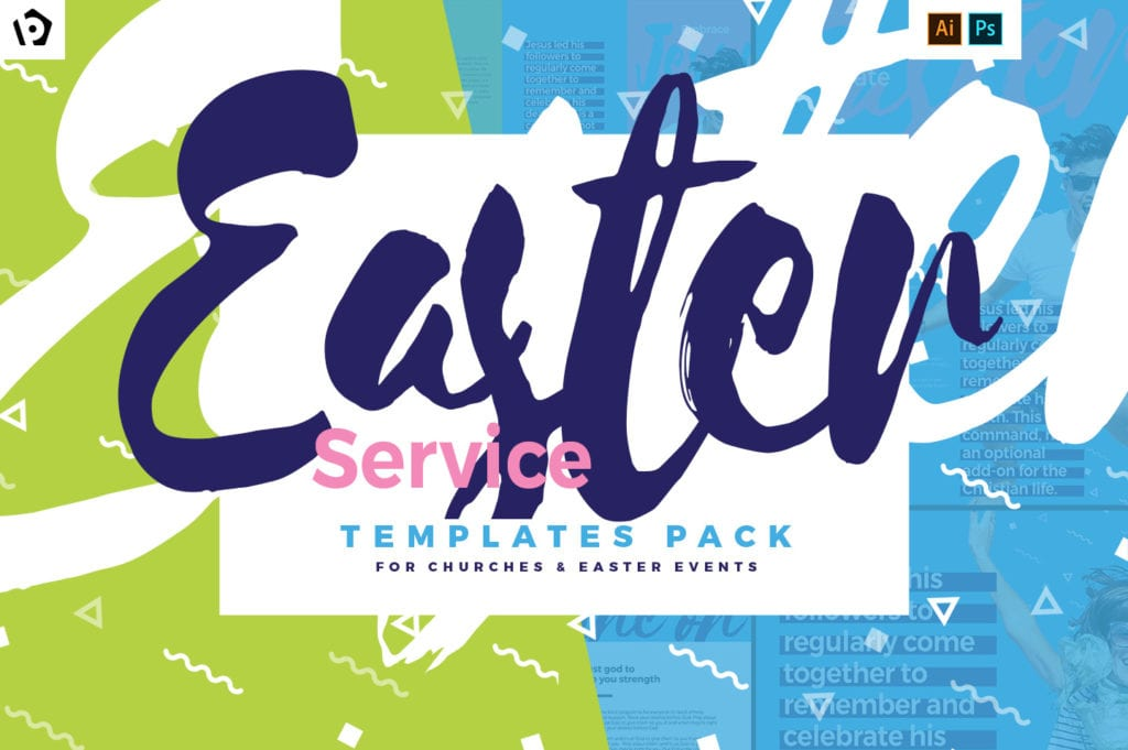 Easter Service Templates Pack