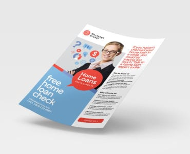 A4 Modern Corporate Poster / Advertisement Template