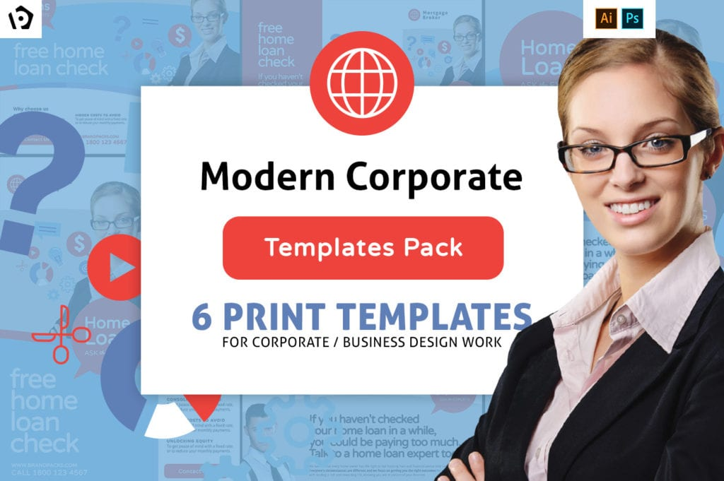 Modern Corporate Templates Pack