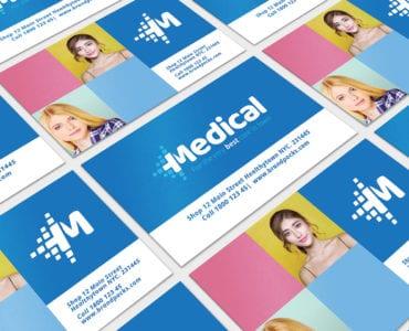 Modern Medical Business Card Template
