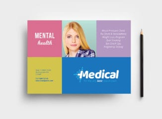 Modern Medical Flyer Template