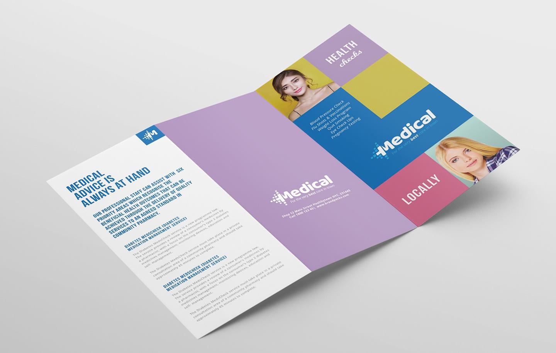 Medical Service Center Brochure Template | MyCreativeShop |Medical Tri Fold Brochure Template