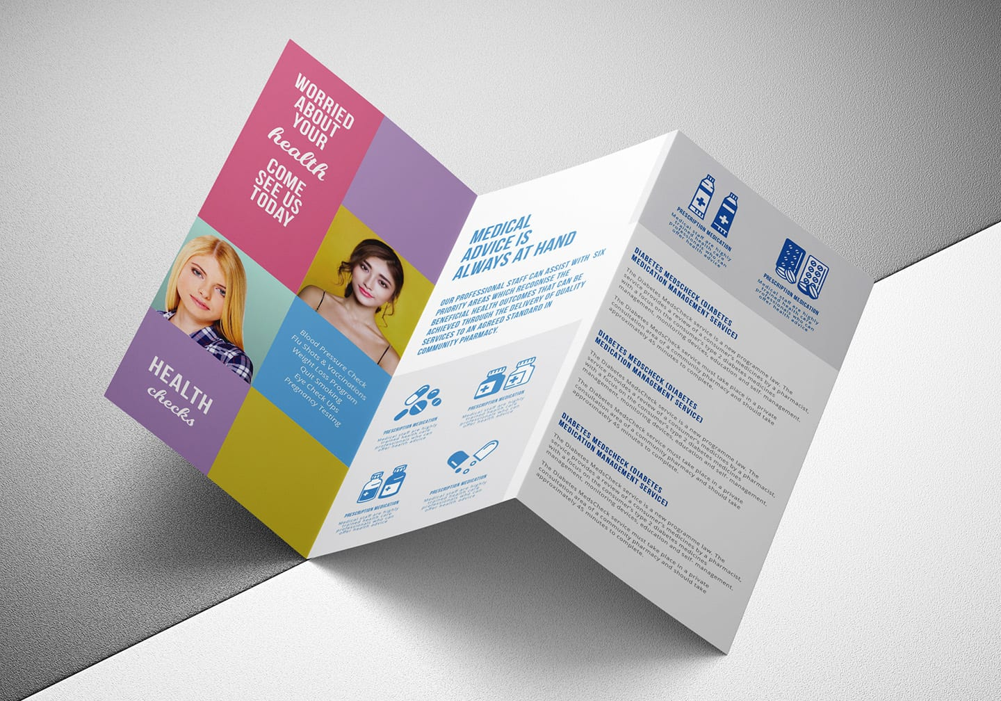 50 Premium and Top-notch Brochure Templates for 2019 - 50 ... |Medical Tri Fold Brochure Template