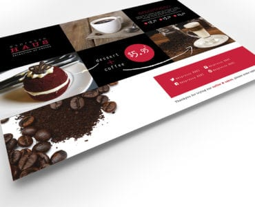 Cafe Menu Flyer Template