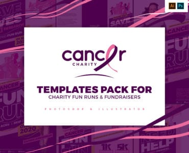 Cancer Charity Templates Pack