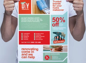 DIY Tool Poster Template